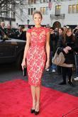 Stacey Keibler Mercedes-Benz Fashion Week - Fall 2012...