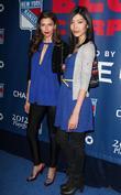 Alejandra Cata, Angie Hsu  The Blue Carpet...