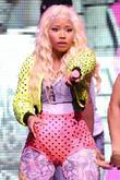 Nicki Minaj performs during the 'Pink Friday World...