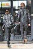 Nikki Reed, Paul McDonald, Barneys New York, Beverly Hills, Christmas