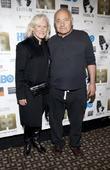 Glenn Close and Burt Young