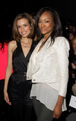 Torrey DeVitto, Nichole Galicia and New York Fashion Week