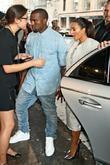 Kim Kardashian, Kanye West and New York Fashion Week