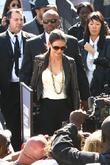 Katie Holmes and New York Fashion Week