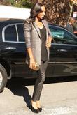 Allyson Felix Mercedes-Benz New York Fashion Week Spring/Summer...