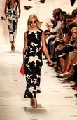 Model, Diane Von Furstenberg and New York Fashion Week