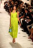 Model, Diane Von Furstenberg and New York Fashion Week