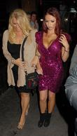 Amy Childs  OK Magazine Christmas Party -...