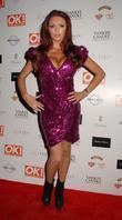 Amy Childs  OK! Magazine Christmas Party -...