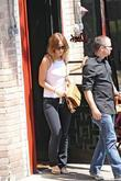Actress Olivia Wilde  seen leaving Little Dom's...