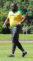 Jason Morgan,  Jamaican track and field team...
