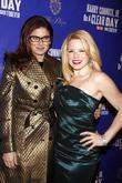 Debra Messing and Megan Hilty