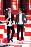 Niall Horan and Zayn Malik