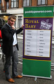 A, Paddy Power, Prince William, Duke, Cambridge, Catherine, Duchess, King Edward, Hospital, Central London