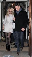 Pamela Anderson and Matt Evers