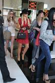 Paris Hilton, Nicky Hilton  seen shopping with...