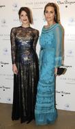 Gemma Atherton and Yasmin LeBon