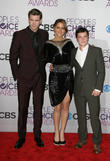 Liam Hemsworth, Jennifer Lawrence, Josh Hutcherson and People's Choice Awards