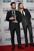 Adam Levine, James Valentine and Annual People's Choice Awards