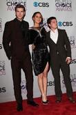 Liam Hemsworth, Jennifer Lawrence, Josh Hutcherson and Annual People's Choice Awards