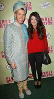 Perez Hilton and Shenae Grimes