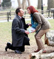 Michael Emerson and Carrie Preston