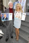 Bob Barker and Pamela Anderson