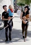 Pete Wentz, Bronx Mowgli Wentz and Meagan Camper