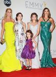 Julie Bowen, Ariel Winter, Sarah Hyland, Sofi, Vergara and Aubrey Anderson-Emmons
