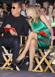 Heidi Klum, Michael Kors and Times Square
