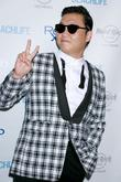 Rapper Psy and Park Jae-sang