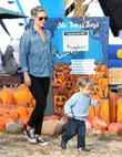 Ali Larter and Teddy
