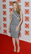 Kylie Minogue, Q Awards, Grosvenor House, London and England