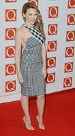 Kylie Minogue, Q Awards, Grosvenor House, London and England