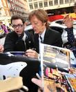 Sir Paul McCartney and Agyness Deyn