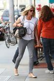 Rachel Hunter out and about in Beverly Hills...