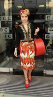 Paloma Faith Sport Relief celebrities outsie the BBC...