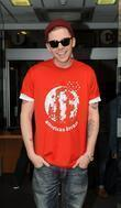 Professor Green Sport Relief celebrities outsie the BBC...