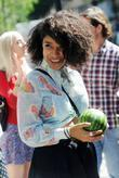 Lianne La Havas outside the BBC Radio One...