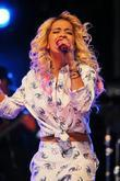Rita Ora BBC Radio 1's Hackney Weekend held...