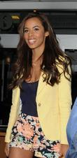 Rochelle Wiseman from The Saturdays  outside the...