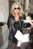 Jennifer Coolidge  outside the BBC Radio 1...