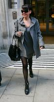 Lisa Scott-Lee of Steps outside the BBC Radio...