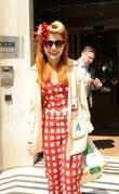 Paloma Faith outside the BBC Radio 2 studios...