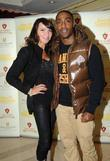 Lizzie Cundy and Simon Webbe Ask Alfred launch...
