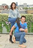Shobna Gulati and John Barrowman