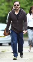 Ricky Gervais  taking a stroll in North...