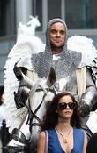 Kaya Scodelario and Robbie Williams