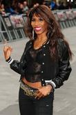 Sinitta and Odeon Leicester Square