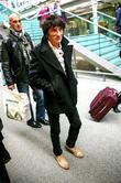 Ronnie Wood The Rolling, Stones, Kings Cross Station, Mick Jagger London, England and Mandatory